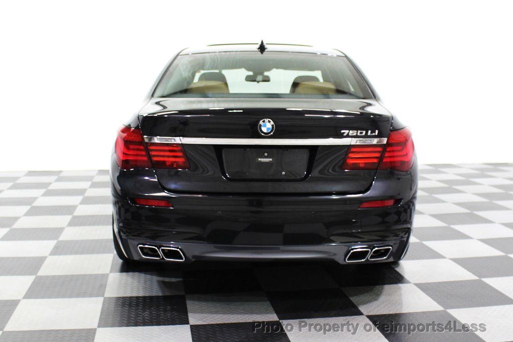 2013 BMW 7 Series CERTIFIED 760Li V12 M Sport Package LEDs CAMERA NAVI - 18240933 - 32