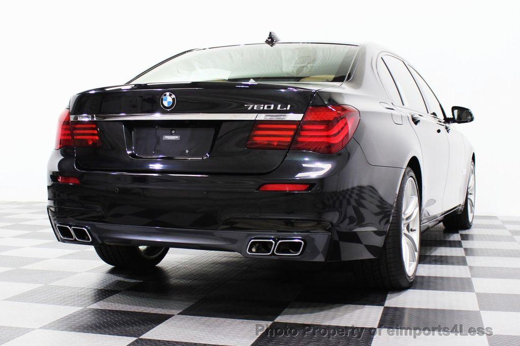 2013 BMW 7 Series CERTIFIED 760Li V12 M Sport Package LEDs CAMERA NAVI - 18240933 - 33