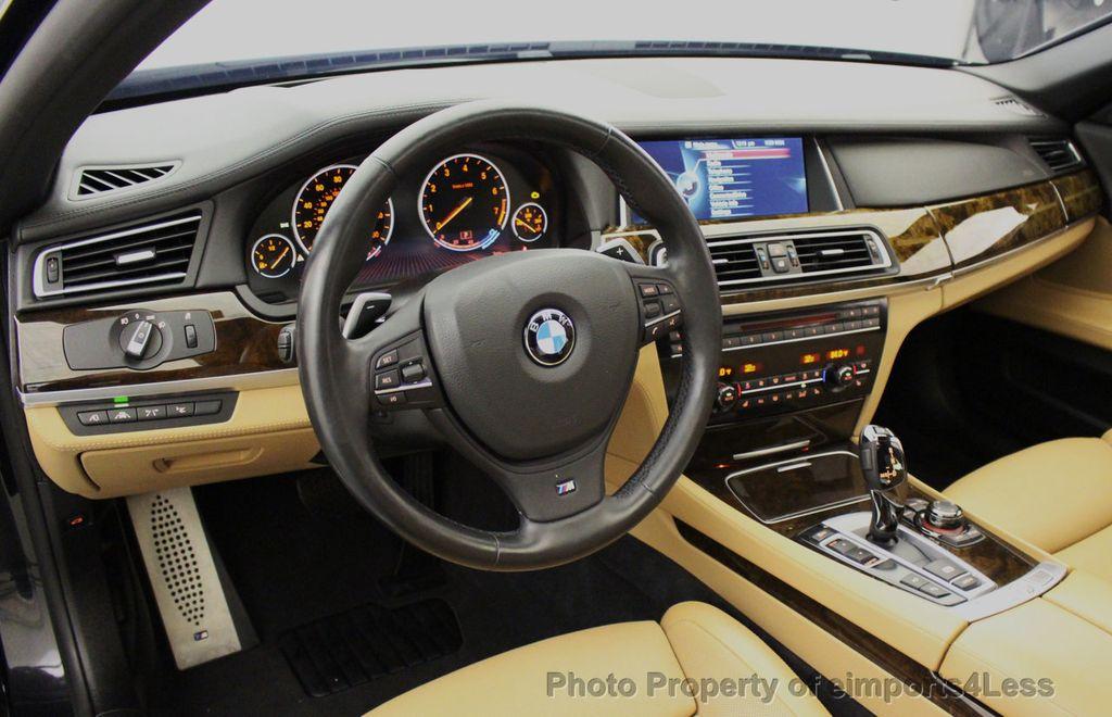 2013 BMW 7 Series CERTIFIED 760Li V12 M Sport Package LEDs CAMERA NAVI - 18240933 - 34