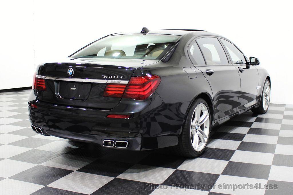 2013 BMW 7 Series CERTIFIED 760Li V12 M Sport Package LEDs CAMERA NAVI - 18240933 - 3