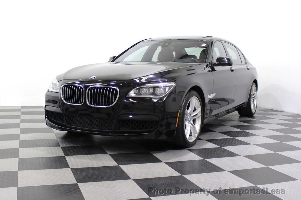 2013 BMW 7 Series CERTIFIED 760Li V12 M Sport Package LEDs CAMERA NAVI - 18240933 - 44