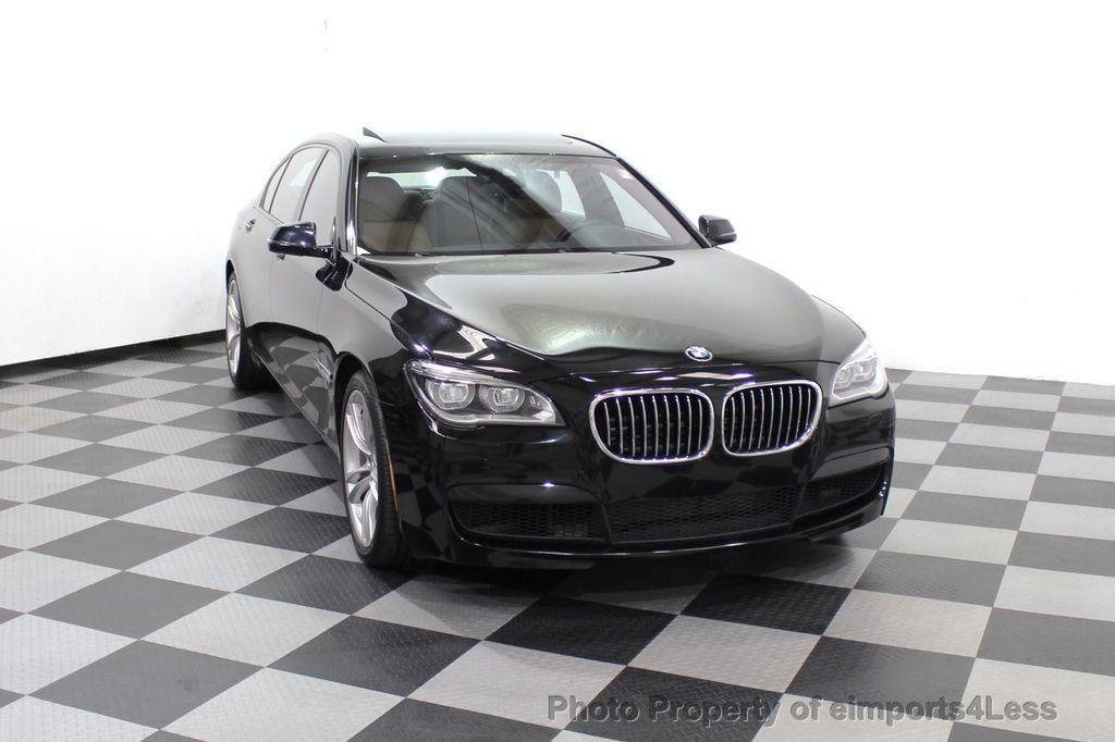 2013 BMW 7 Series CERTIFIED 760Li V12 M Sport Package LEDs CAMERA NAVI - 18240933 - 45