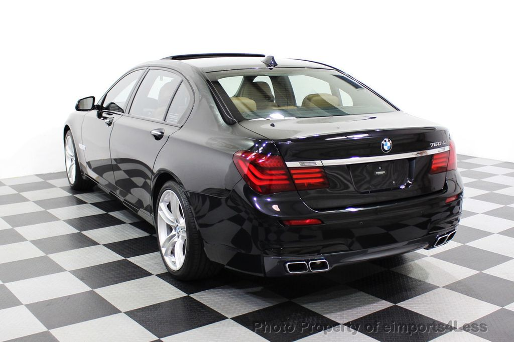 2013 BMW 7 Series CERTIFIED 760Li V12 M Sport Package LEDs CAMERA NAVI - 18240933 - 46