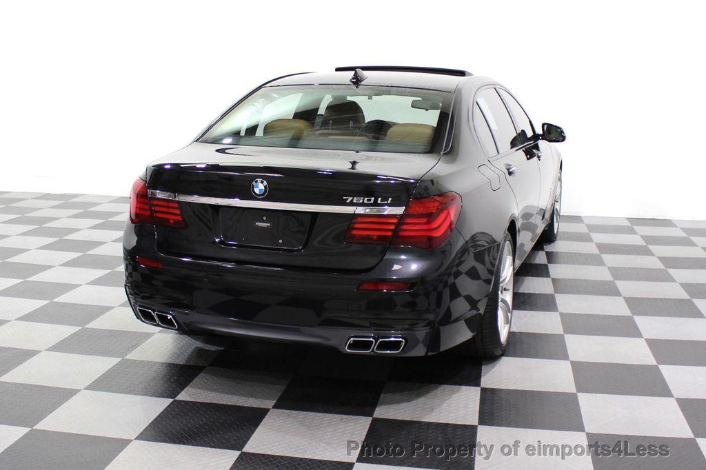 2013 BMW 7 Series CERTIFIED 760Li V12 M Sport Package LEDs CAMERA NAVI - 18240933 - 47