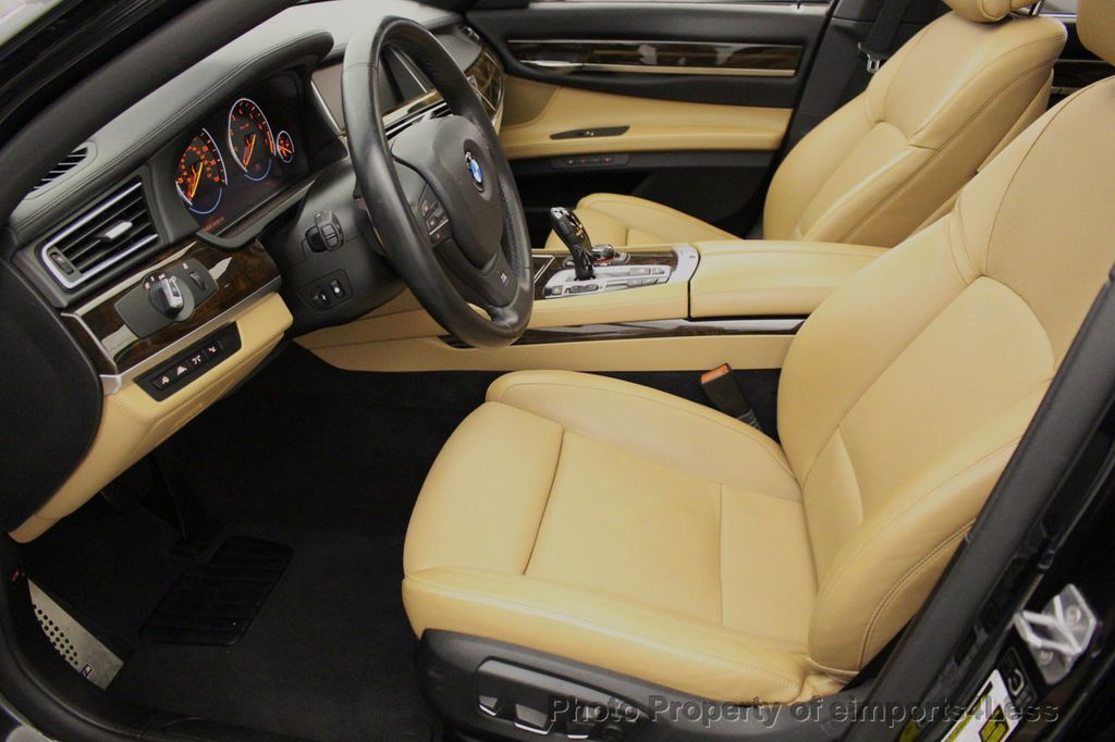 2013 BMW 7 Series CERTIFIED 760Li V12 M Sport Package LEDs CAMERA NAVI - 18240933 - 48