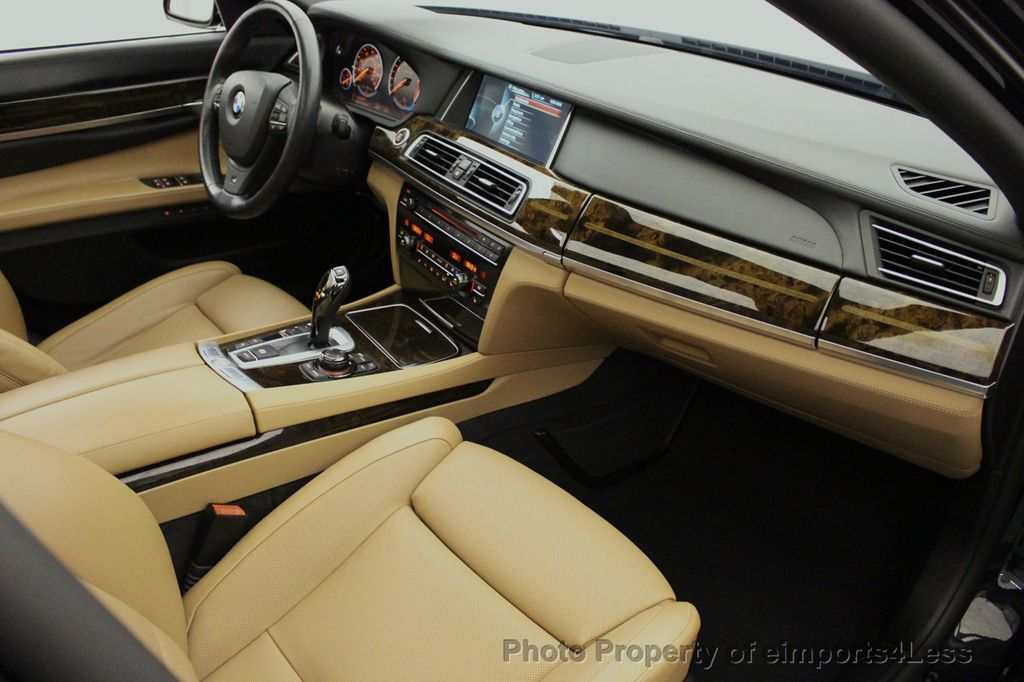 2013 BMW 7 Series CERTIFIED 760Li V12 M Sport Package LEDs CAMERA NAVI - 18240933 - 49
