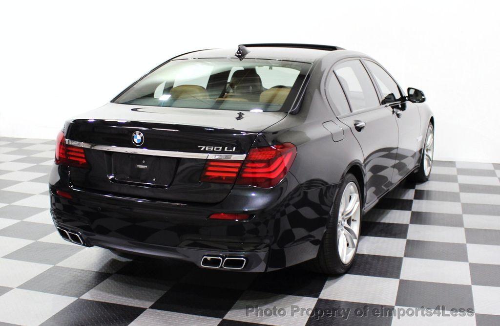 2013 BMW 7 Series CERTIFIED 760Li V12 M Sport Package LEDs CAMERA NAVI - 18240933 - 55