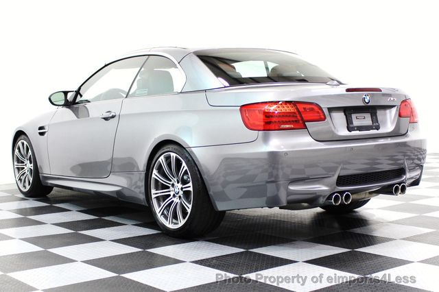 2013 BMW M3 CERTIFIED M3 V8 CONVERTIBLE 6 SPEED MANUAL - 16454292 - 18