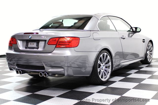 2013 BMW M3 CERTIFIED M3 V8 CONVERTIBLE 6 SPEED MANUAL - 16454292 - 22