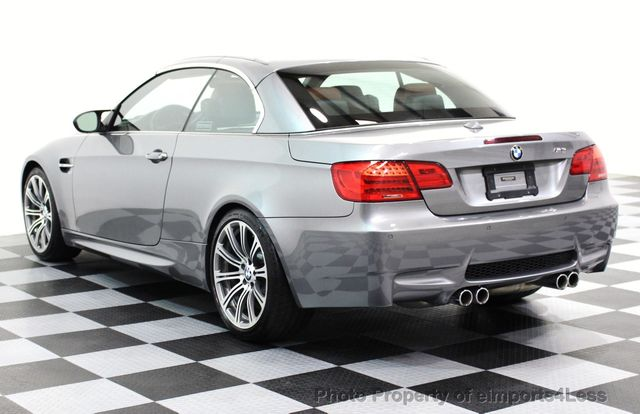 2013 BMW M3 CERTIFIED M3 V8 CONVERTIBLE 6 SPEED MANUAL - 16454292 - 30