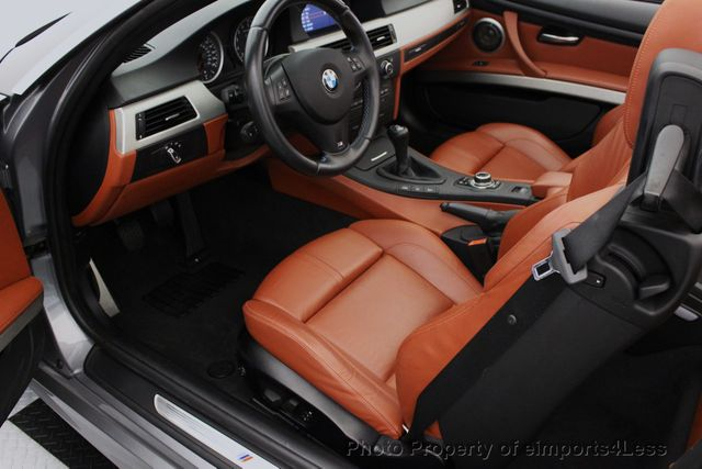 2013 BMW M3 CERTIFIED M3 V8 CONVERTIBLE 6 SPEED MANUAL - 16454292 - 49