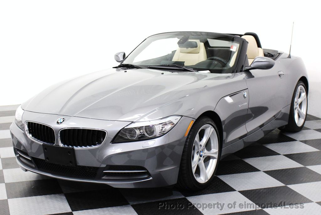 2013 Used Bmw Z4 Certified Z4 Sdrive28i Roadster 6 Speed