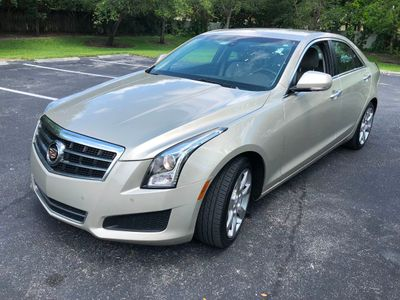 2013 Cadillac ATS 4dr Sedan 2.0L Luxury RWD