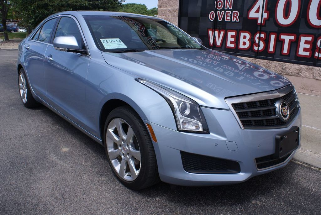 2013 Cadillac ATS 4dr Sedan 3.6L Luxury AWD - 15133601 - 0