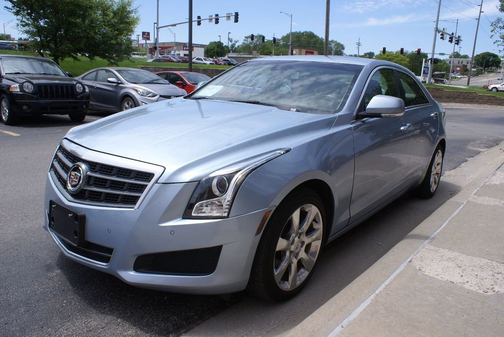 2013 Cadillac ATS 4dr Sedan 3.6L Luxury AWD - 15133601 - 1