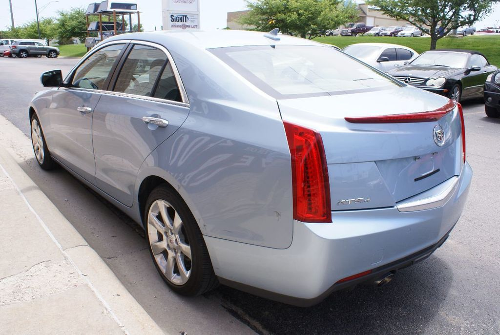 2013 Used Cadillac Ats 4dr Sedan 3 6l Luxury Awd At The Internet Car
