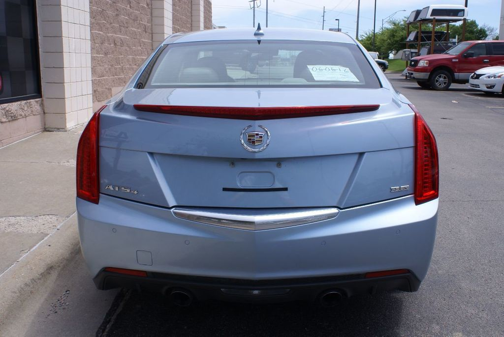 2013 Cadillac ATS 4dr Sedan 3.6L Luxury AWD - 15133601 - 3