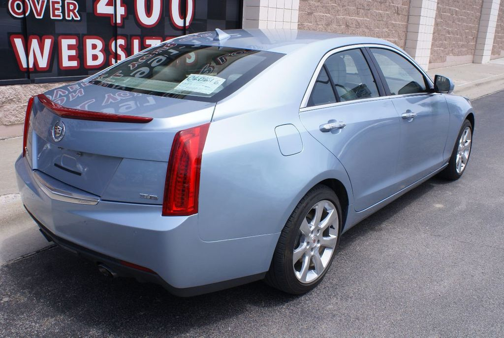 2013 Cadillac ATS 4dr Sedan 3.6L Luxury AWD - 15133601 - 4