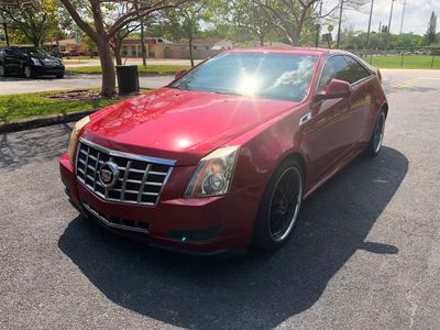 2013 Cadillac CTS Coupe 2dr Coupe Performance AWD