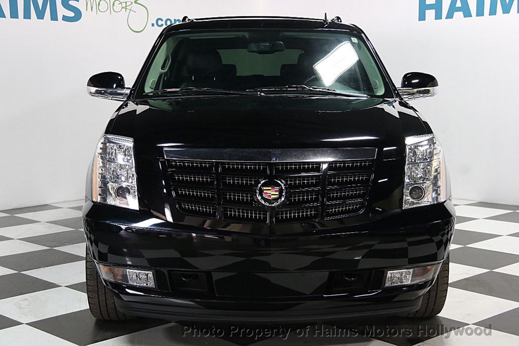 2013 used cadillac escalade esv luxury at haims motors serving fort lauderdale hollywood miami. Black Bedroom Furniture Sets. Home Design Ideas