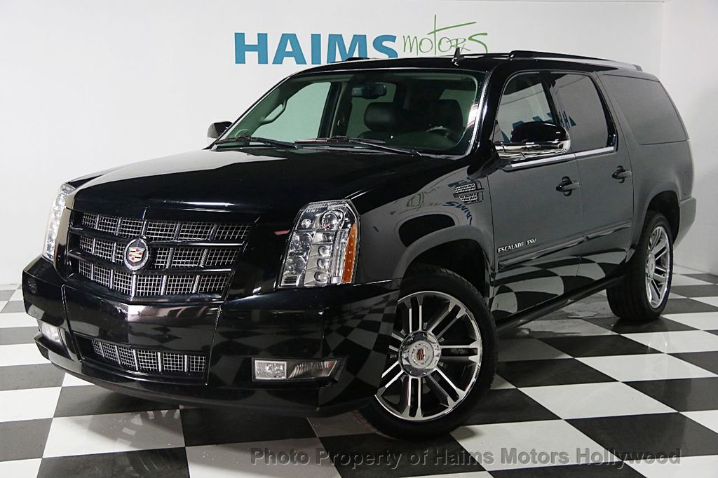 2013 used cadillac escalade esv premium at haims motors. Black Bedroom Furniture Sets. Home Design Ideas