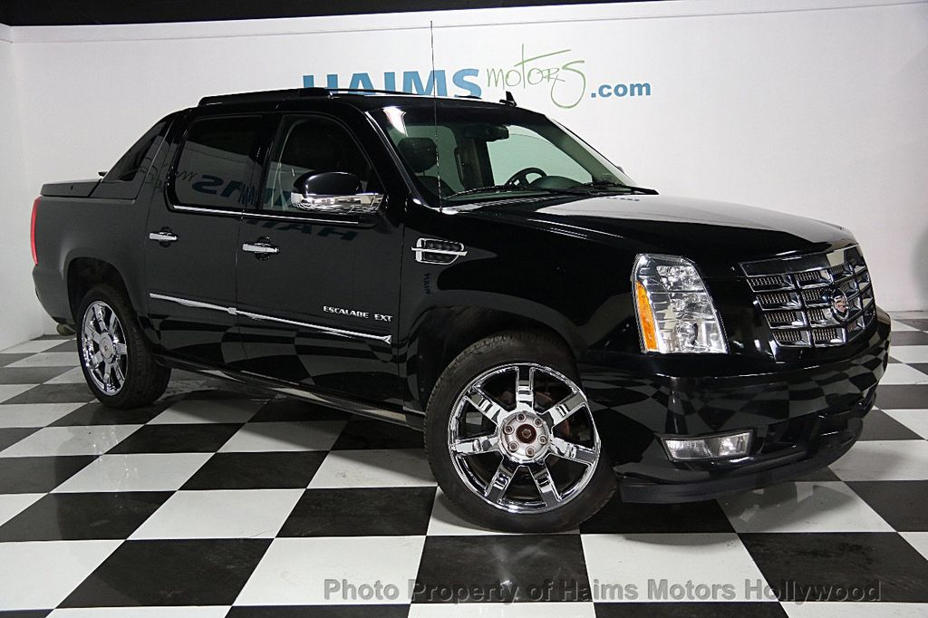 2013 used cadillac escalade ext premium at haims motors. Black Bedroom Furniture Sets. Home Design Ideas