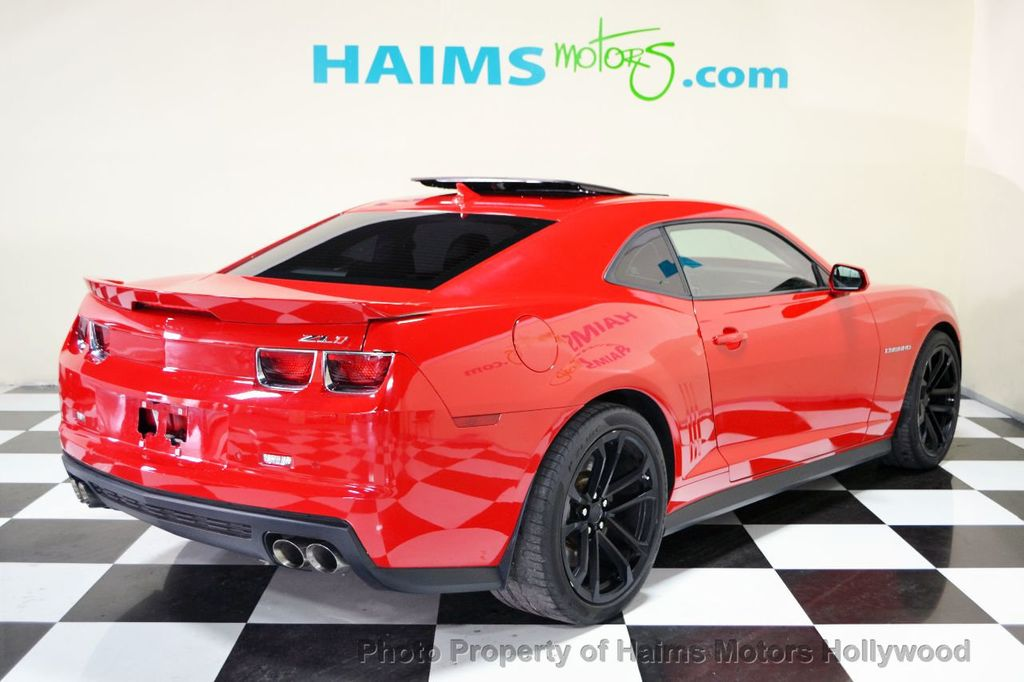 2013 Used Chevrolet Camaro 2dr Coupe Zl1 At Haims Motors