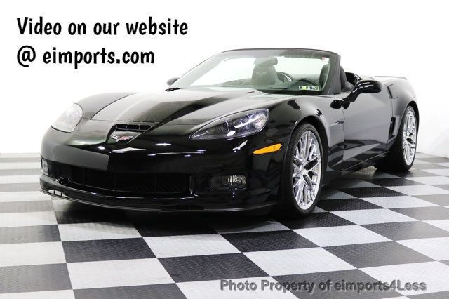 2013 Chevrolet Corvette CERTIFIED 427 1SC 60TH ANNIVERSARY COLLECTOR EDITION - 17903712 - 0