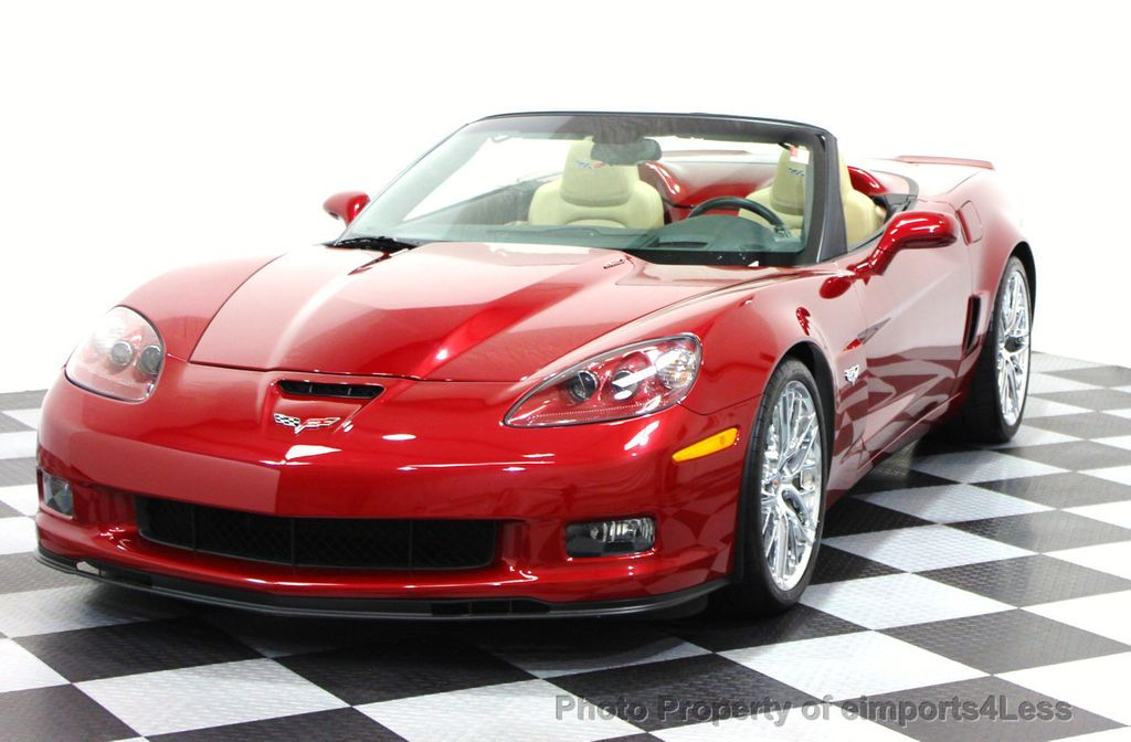 2013 Chevrolet Corvette CERTIFIED 427 CONVERTIBLE 1SB BOSE NAVIGATION    16067194   19