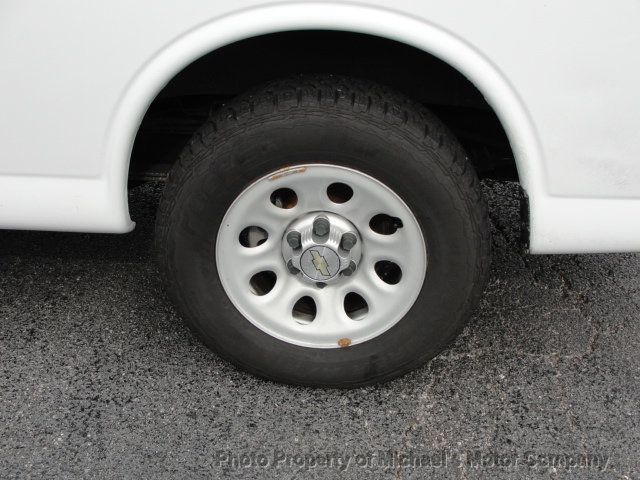 2013 Chevrolet Express Cargo Van 1500 EXPRESS CARGO...LADDER RACK AND BINS..V6..AUTOMATIC - 17323582 - 11