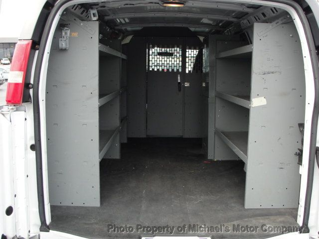2013 Chevrolet Express Cargo Van 1500 EXPRESS CARGO...LADDER RACK AND BINS..V6..AUTOMATIC - 17323582 - 16