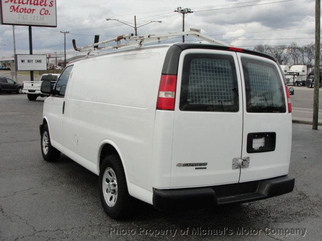 2013 Chevrolet Express Cargo Van 1500 EXPRESS CARGO...LADDER RACK AND BINS..V6..AUTOMATIC - 17323582 - 6