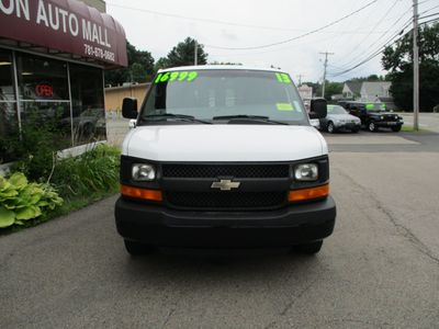 "2013 Chevrolet Express Cargo Van RWD 3500 135"" - Click to see full-size photo viewer"