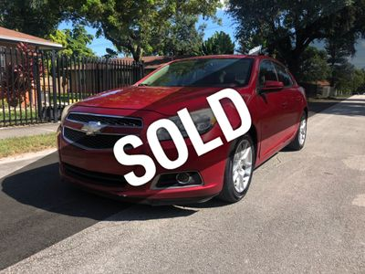 2013 Chevrolet Malibu 4dr Sedan ECO w/2SA