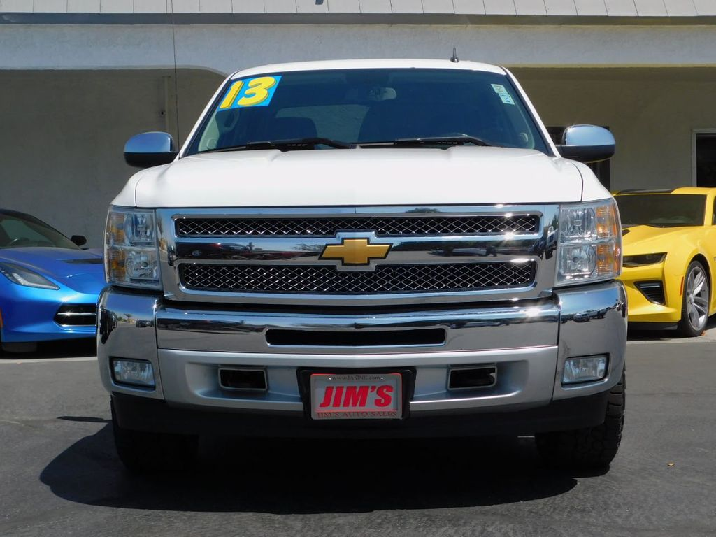 2013 Chevrolet Silverado 1500 1-Owner, Carfax Certified, 4X4  - 18016454 - 1