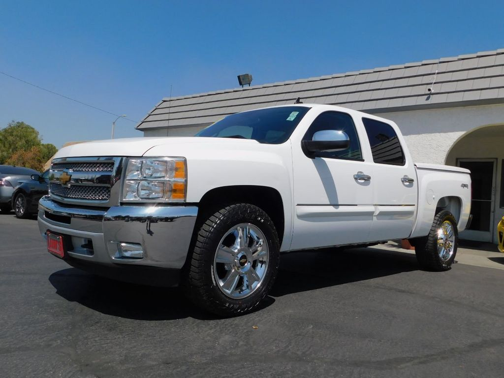 2013 Chevrolet Silverado 1500 1-Owner, Carfax Certified, 4X4  - 18016454 - 2