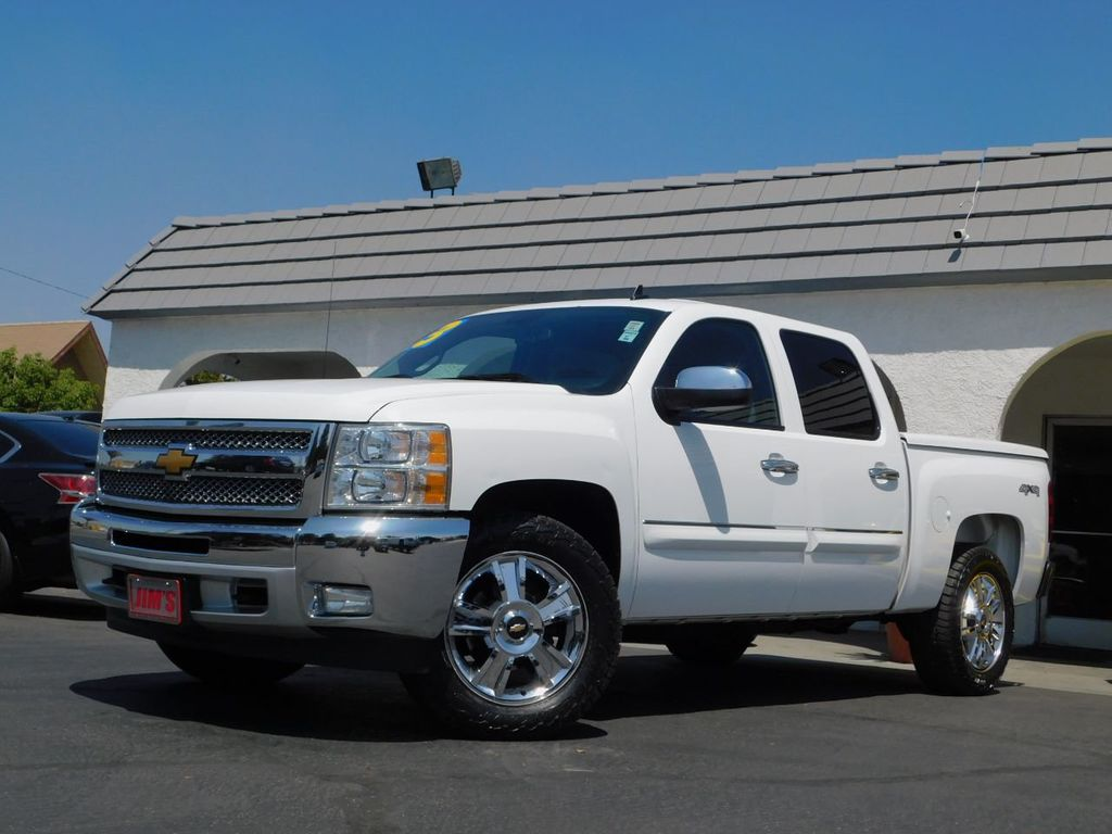 """2013 Chevrolet Silverado 1500 4WD Crew Cab 143.5"""" LT - 18016454 - 0"""