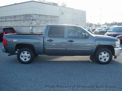 "2013 Chevrolet Silverado 1500 4WD Crew Cab 143.5"" LT - Click to see full-size photo viewer"