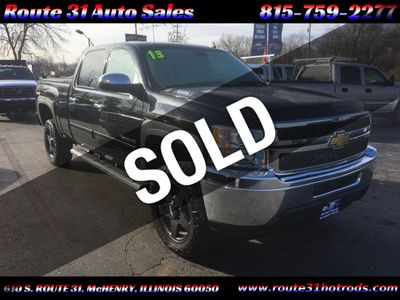 2013 Chevrolet Silverado 2500HD 4 inch lift heavy duty 1 owner truck