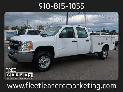 2013 Chevrolet Silverado 2500HD 4WD Enclosed Utility Body