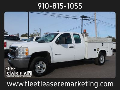 2013 Chevrolet Silverado 2500HD Enclosed Utility Body