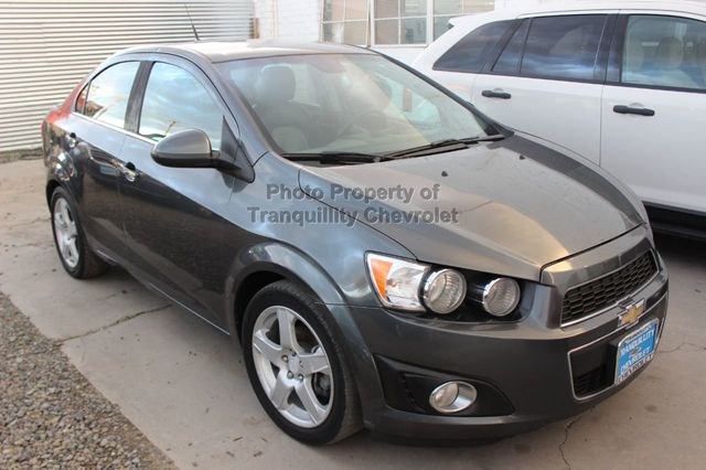 2013 Used Chevrolet Sonic 4dr Sedan Automatic LTZ at Tranquillity  Chevrolet, CA, IID 18611953