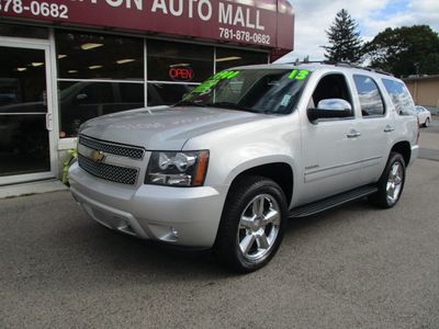 2013 Chevrolet Tahoe TAHOE LTZ - Click to see full-size photo viewer