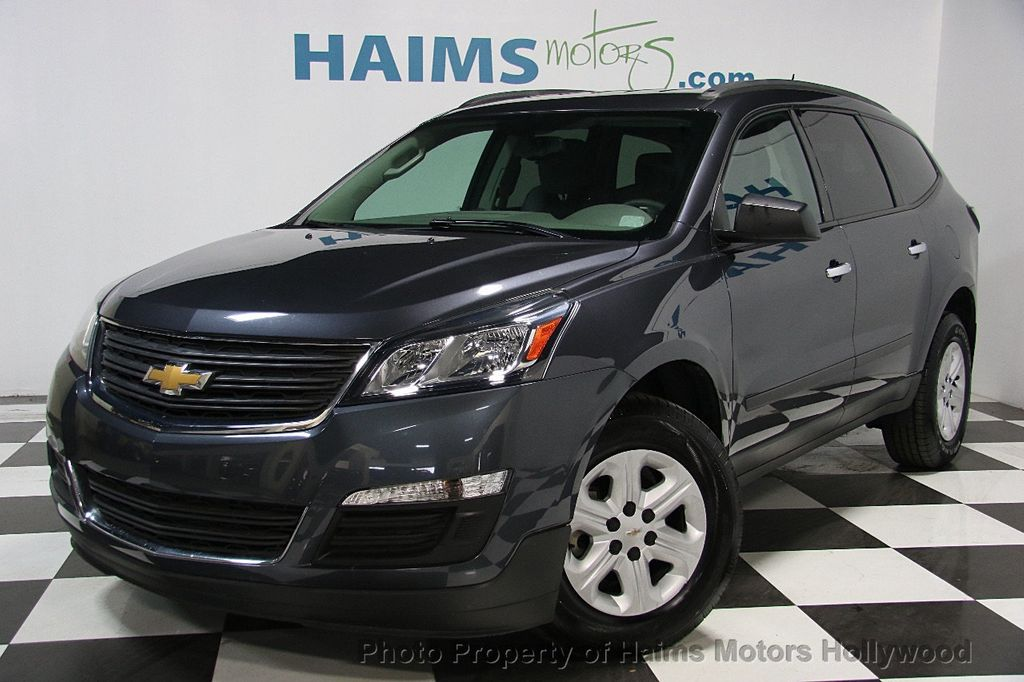2013 used chevrolet traverse fwd 4dr ls at haims motors ft for Traverse city motors used cars