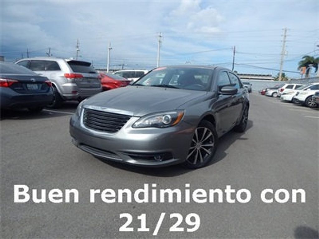 Chrysler 200 Limited >> 2013 Used Chrysler 200 Limited At Triangle Chrysler Dodge Jeep Ram Fiat De Ponce Pr Iid 18918296