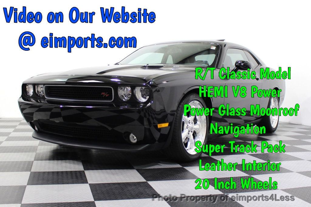 2013 Dodge Challenger CERTIFIED CHALLENGER R/T CLASSIC SUNROOF XENONS NAV - 18086122 - 0