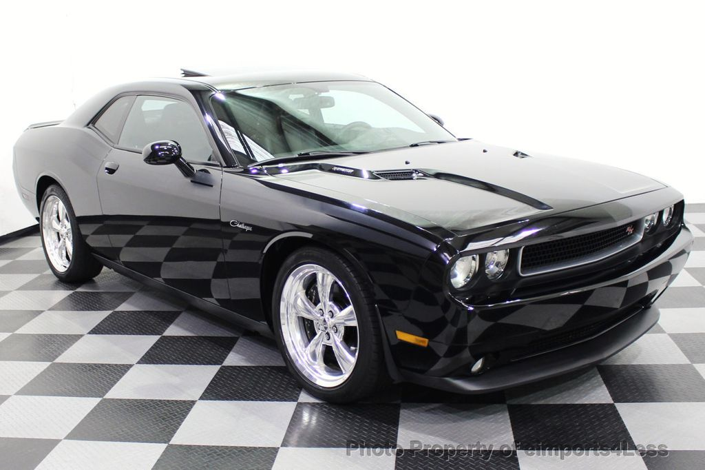 2013 Dodge Challenger CERTIFIED CHALLENGER R/T CLASSIC SUNROOF XENONS NAV - 18086122 - 1