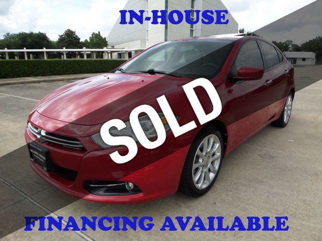 2013 Dodge Dart Sedan 4DR, Sunroof, Bluetooth, Reverse Camera, Keyless Entry