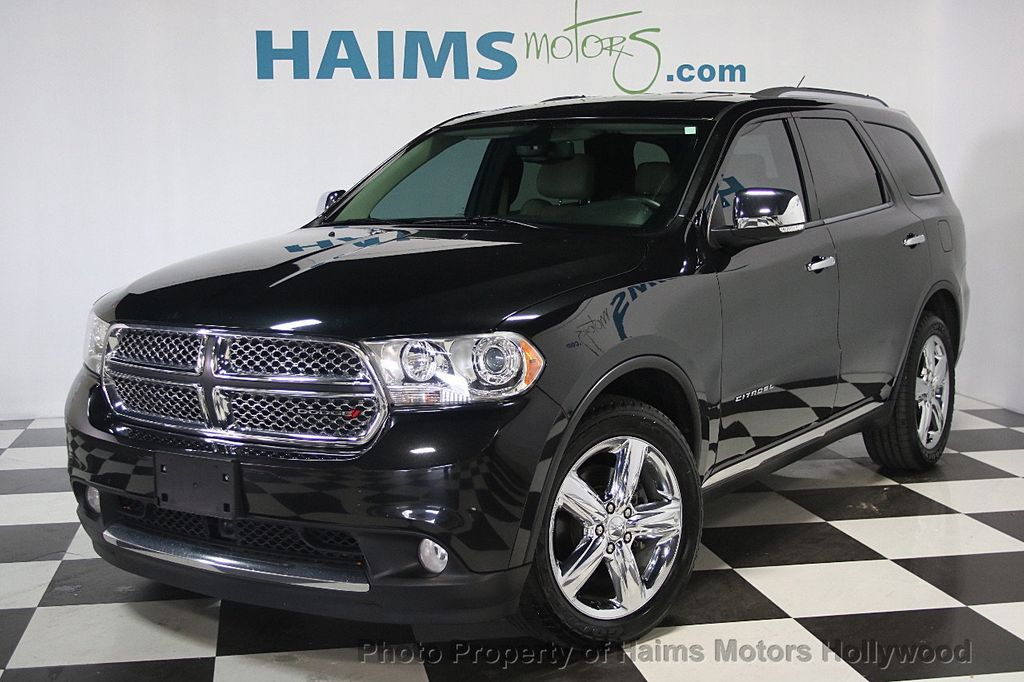 2013 used dodge durango 2wd 4dr citadel at haims motors. Black Bedroom Furniture Sets. Home Design Ideas