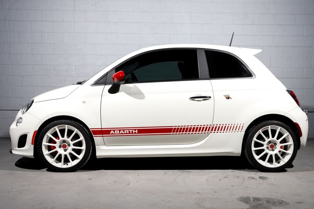 2013 FIAT 500 **1-OWNER**ABARTH**FACTORY WHITE WHEELS** - 18674797 - 3